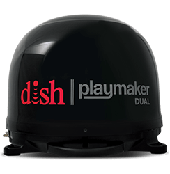 DISH Playmaker Dual - Outdoor TV - Cheboygan, MI - The Dish Doctor LLC - DISH Authorized Retailer